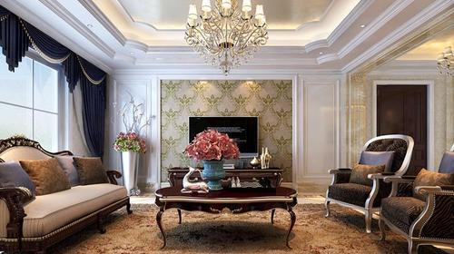 乔治庄园220平米欧式古典风格